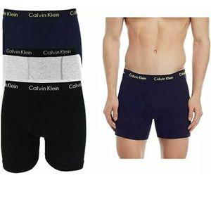 3 Pack Calvin Klein Cotton Stretch Boxer Briefs